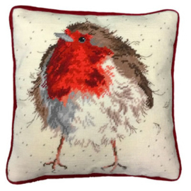 Borduurpakket Jolly Robin Tapestry - Bothy Threads    bt-thd05