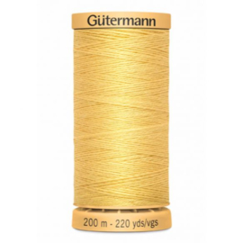 Rijggaren van Gutermann / Geel / kleurnr. 758