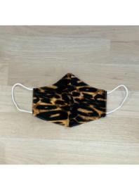 Leopard tijger - mondkapjes van katoen / wasbaar en hergebruik