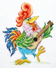 Borduurpakket Wake up and sing - Chudo Igla (Magic Needle)    ci-019-023