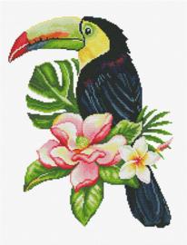 Voorbedrukt borduurpakket Toucan look out - Needleart World    nw-nc440-100