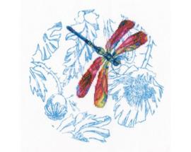 Borduurpakket Dance of dragonflies - RTO    rto-m70022