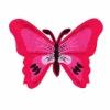 HKM Mode Applic. Vlinder Rood / Roze