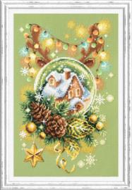 Borduurpakket Light Christmas - Chudo Igla    ci-100-245