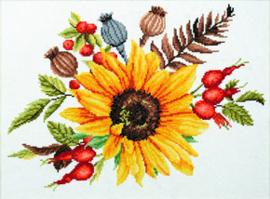 Voorbedrukt borduurpakket Autumn Bouquet - Needleart World    nw-nc440-095