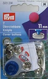 Prym Stofknopen met matrijs  15mm   323 215