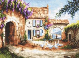 Borduurpakket Village - Leti Stitch    leti-0902
