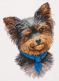 Borduurpakket Yorkshire Terrier - PANNA    pan-7198-j