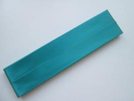 Satijn Biaisband Duchesse / Aqua Groen / Kleurnr. 377