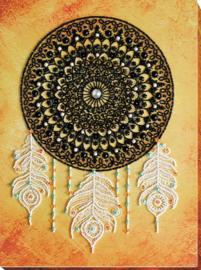 Kralen borduurpakket Lace Dreams - Abris Art    aa-ab-693