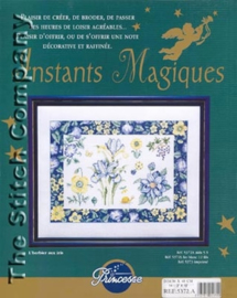 Borduurpakket L'herbier aux iris - Princesse    vra-pr5372a