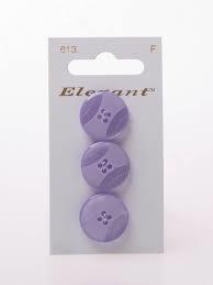 Knopen Elegant - Paars / 613