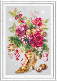 Borduurpakket Christmas Surprise - Chudo Igla    ci-100-270