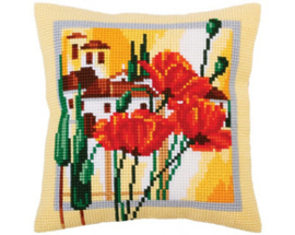 Kussen borduurpakket Tuscany - Collection d'Art    cda-5293
