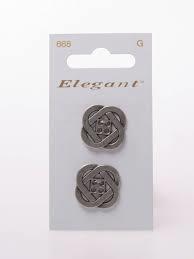 Knopen Elegant - Zilver / 668