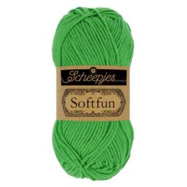 Scheepjes Softfun  / 2605 fel groen / Emerald
