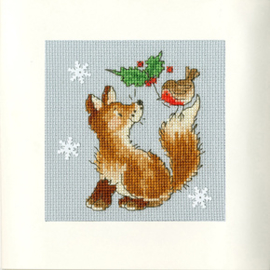 Borduurpakket Margaret Sherry - Christmas Friends - Bothy Threads    bt-xmas29