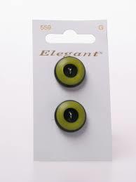 Knopen Elegant - Groen / 559