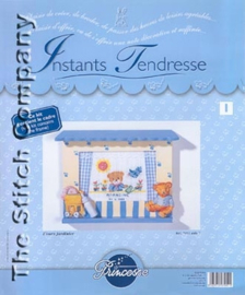 Borduurpakket L'ours jardenier - Princesse    vra-pr7051