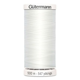Gütermann /  500 meter / 800 / Wit