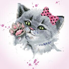Diamond Dotz Eye Spy Kitty - Needleart World    nw-dd05-059