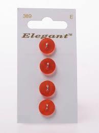 Knopen Elegant - Oranje / 389