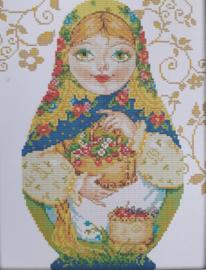 Cross Stitch / Russian doll