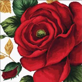 Voorbedrukt borduurpakket Rose - Needleart World    nw-nc640-084
