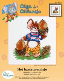Borduurpakket Het Hamstermuisje - The Stitch Company    tsck-1201e