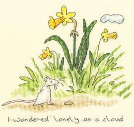 Borduurpakket Anita Jeram - Lonely as a Cloud - Bothy Threads    bt-xaj10