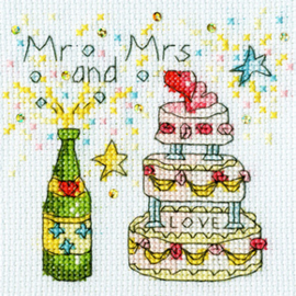 Borduurpakket Amanda Loverseed - Cheers Card - Bothy Threads    bt-xgc07