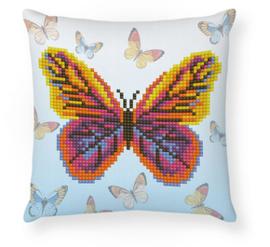 Diamond Dotz Butta Flutta Mini Pillow - Needleart World    nw-ddp02-042