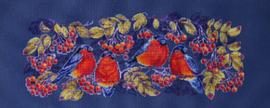 Borduurpakket Bullfinches - Merejka    mer-k092