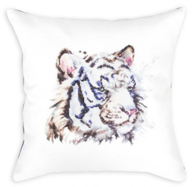 Kussenpakket Cushion White Tiger - Luca-S    ls-pb144