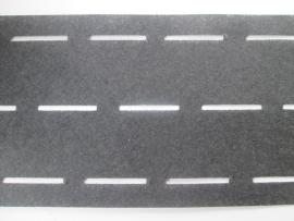 Tailleband Vlieseline. Zwart 30 mm breed