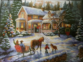 Cross Stitch / Return from Christmas