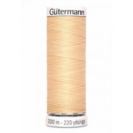 Gutermann alles naaigaren Donker Ecru 006 / 6 / 200 meter