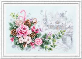 Borduurpakket Christmas Sentiment - Chudo Igla    ci-100-244