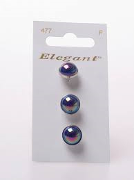 Knopen Elegant - Blauw / 477