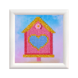 Diamond Dotz Home Sweet Home with Frame - Needleart World    nw-dd01-002f