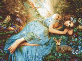 Borduurpakket Spring Fairy - Leti Stitch    leti-0960