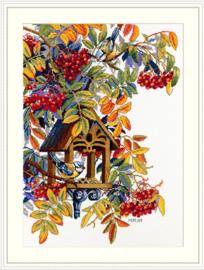 Borduurpakket Colorful Rowan - Merejka    mer-k151