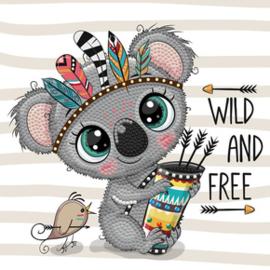 Diamond Dotz Wild & Free - Needleart World    nw-dbx-026