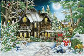 Diamond Dotz Winter Wonderland - Needleart World    nw-dd15-020