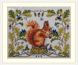 Borduurpakket Squirrel - Merejka    mer-k146