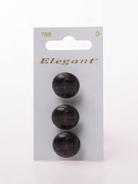 Knopen Elegant - Bruin / 788