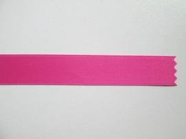Satijnlint satin double face Deluxe 16 mm roze 62