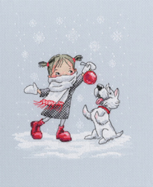 Borduurpakket Dancing with Snowflakes - RTO    rto-m00652