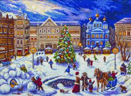Borduurpakket New Year Festivities - PANNA    pan-1515-gm