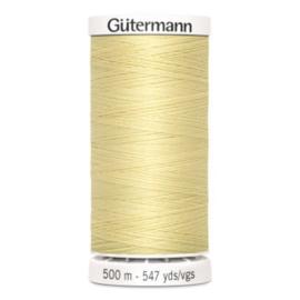 Gütermann /  500 meter / 325 / Licht Geel